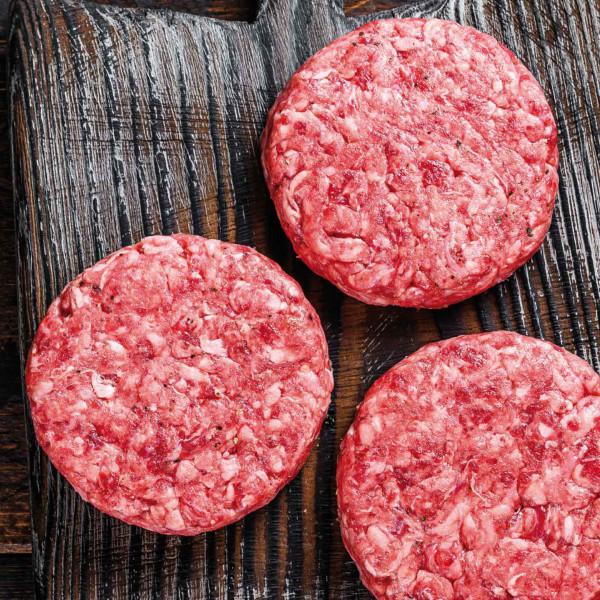 Dry Aged Burger Patties, Kettyle Irish Foods - 50 x 150g TK