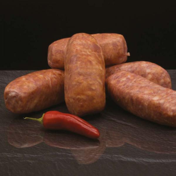 Salcicca Toscana - Origina Italienische Würstchen mit Peperoncino - 1,2 Kg