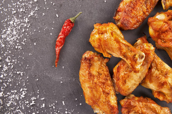 "Buffalo Chick'n Wings ""Exta Hot"" - SALOMON FoodWorld, TK- 2,5 Kg"