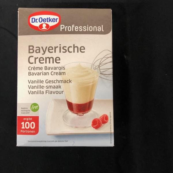 Bayrische Creme, Dr Oetger Professional, 100 Portionen - 1 Kg