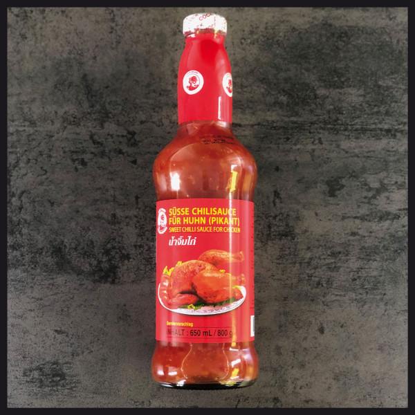 Süsse Chillisauce für Huhn ( Pikant) 650 ml