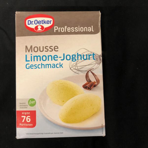 Mousse Limone-Joghurt, Dr Oetker Professional 76 Portionen - 1 Kg