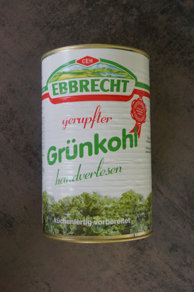 Grünkohl Dose Ebbrecht - 4250 ml
