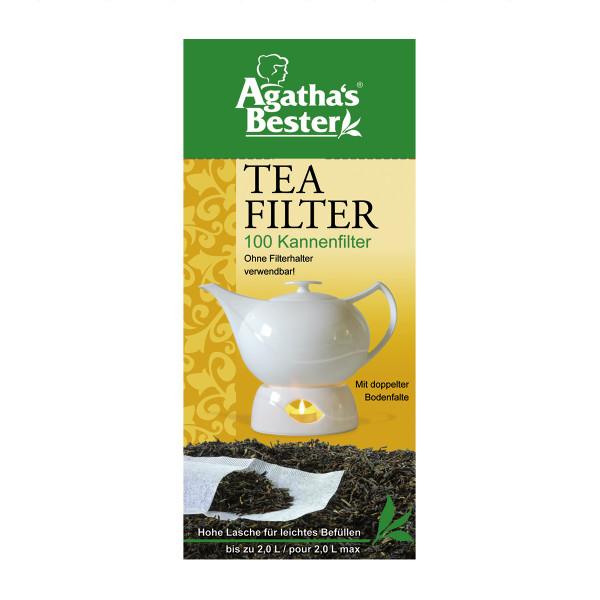 Kannenfilter, ohne Filterhalter verwendbar, VE: 100 Stk