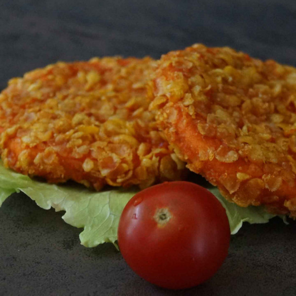 Crunchy Chick'n Burger Patties TK