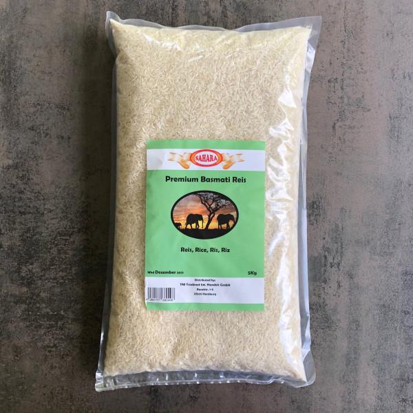 Sahara Premium Basmati Reis - 5 Kg