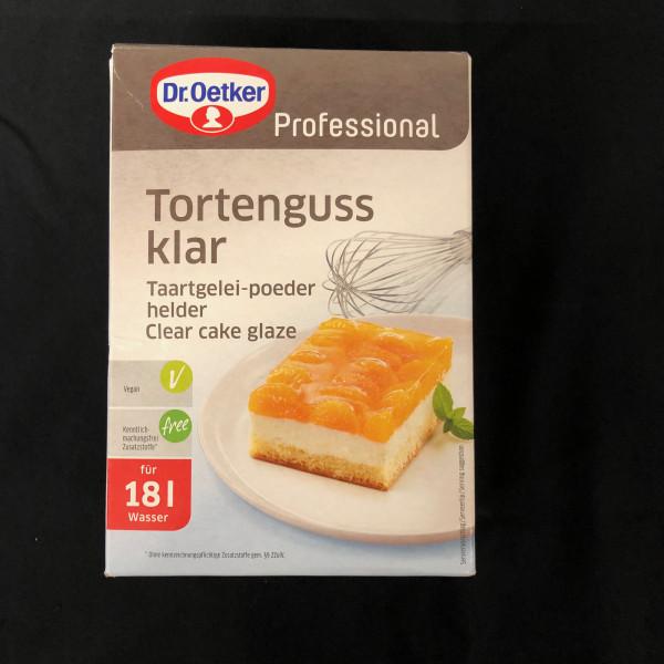 Tortenguss Klar, Dr Oetger Professional, für 18L - 1 Kg