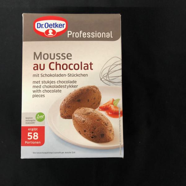 Mousse au Choccolat, Dr Oetker Professional 58 Portionen - 1 Kg