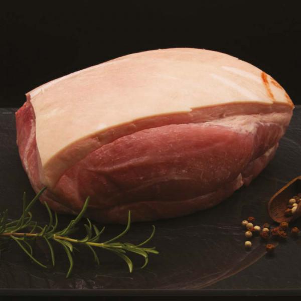 Schweinehüfte mit Schwarte - gepökelt (Krustenbraten) - 2 Kg