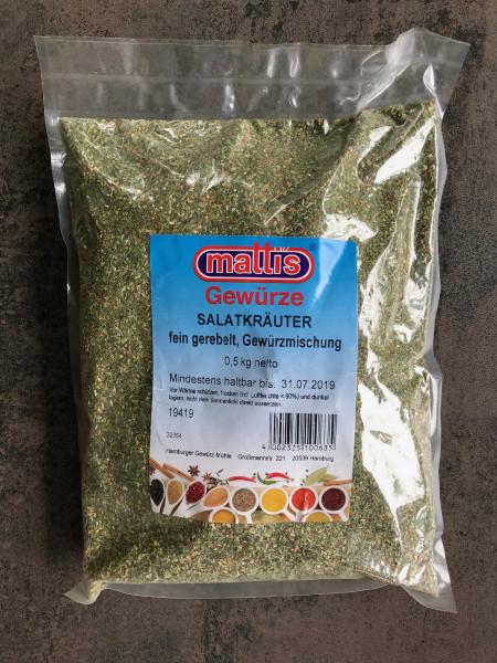 SALATKRÄUTER, fein gerebelt, Gewürzmischung 0,5 Kg